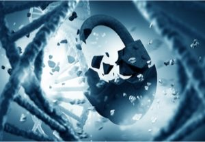 DNA padlock