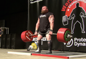 Eddie hall deadlift